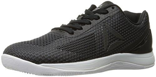 Reebok Women's Crossfit Nano 7.0 Cross-Trainer Shoe, Black/Lead/White, 6 M US