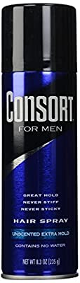 Consort For Men Hair Spray - Unscented Extra Hold