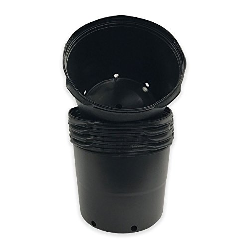 Viagrow #7 series Nursey Pots ( 6.08 Gal/23.02 Liters) 7 gal Trade pot (5pk)