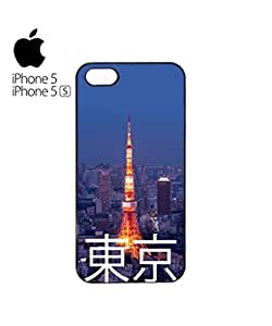 Tokyo City Night Mobile Cell Phone Case Cover iPhone 5&5s Black