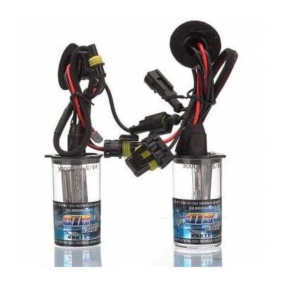 2x Voiture H4/L S/L Xenon HID ampoules lumières ampoule de phare de remplacement
