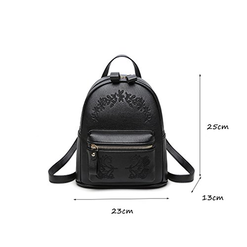 Shoulder Ladies' Bag Leather Fashion Casual Wind Soft Wild Korean Clothes Waterproof College Mini Female Bag 6aZxnwEq5