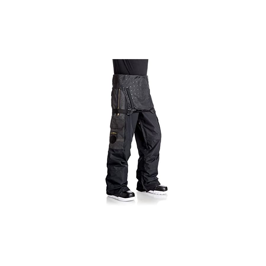 DC Men's Platoon 15k Water Proof Snow Pant Bib Overalls
