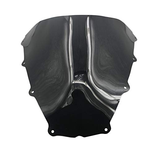 (Jonathan-Shop - Motorcycle ABS Windscreen Windshield Fit For Aprilia RSV1000 MILLE R 1997-2000 1999 1998 RSV 1000 97-00 Black Wind Protector)