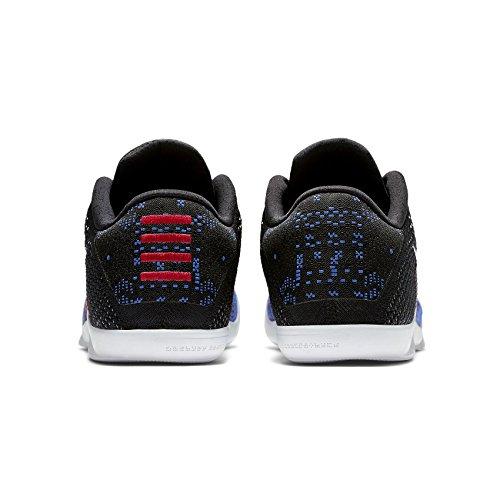 huge selection of 1d11a e538c Nike Kobe XI Elite Low BHM 822522-914 White Royal Flyknit Men s Basketball  Shoes
