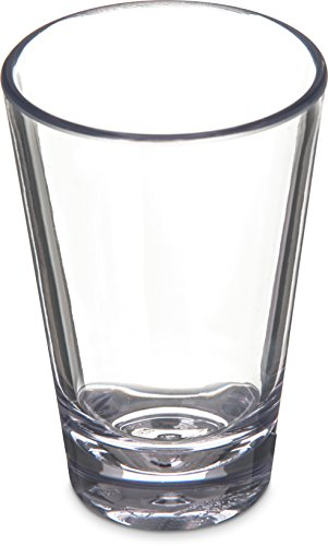 Carlisle 560307 Alibi Heavy-Weight Plastic Shooter/Mini Dessert, 3 oz (Set of 24) - 3 Ounce Shot Glasses