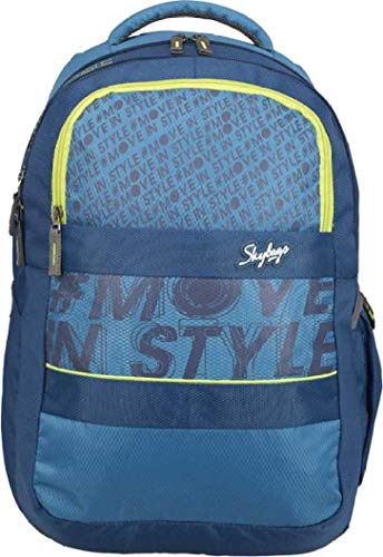 Skybags Vader Polyester 1 Laptop Backpack (Teal)
