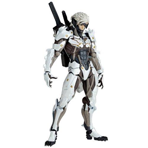 Revoltech Yamaguchi NO.140EX Raiden White Armour by Kaiyodo