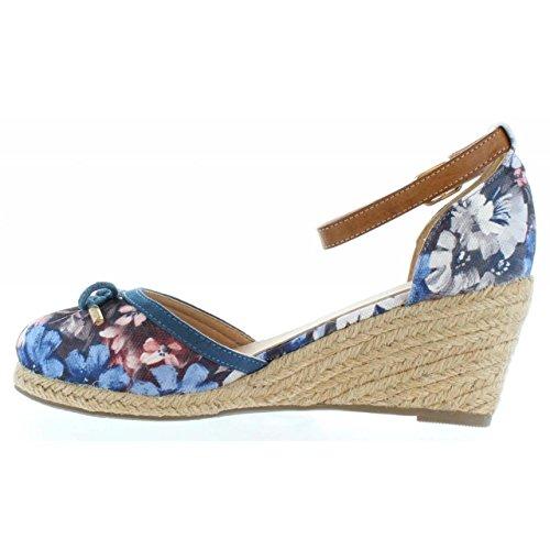 Compensées Flor Refresh pour Jeans TEX 61791 Refresh Femme Chaussures Chaussures T8OHqt8