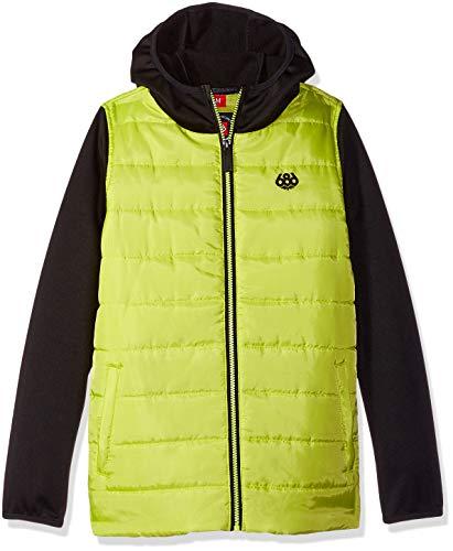 686 Boys' Heater Insulated Jacket | Waterproof Ski/Snowboard Jacket | Lime - M (686 Boys Snowboard Jacket)