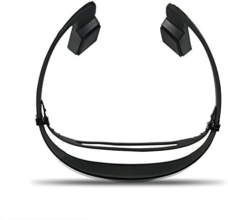 Amazon Com Open Ear Wireless Bone Conduction Headphones Open Back Noise Cancelling Bluetooth Earphones Sweatproof Hd Stereo Wireless Headset With Multipoint Connection Function For Outdoor Activities Black