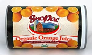 Organic Frozen Orange Juice Concentrate, 12 oz. Can