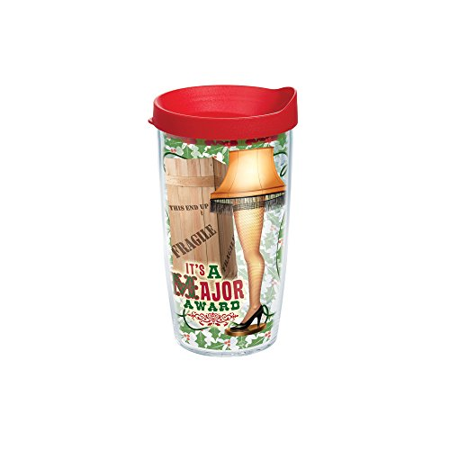 Tervis 1163355 Tumbler with Red Lid, 16-Ounce, Christmas ...