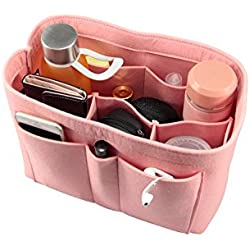 Felt Fabric Purse Handbag Organizer Bag - MultiPocket Insert Bag, Medium, Large, X-large