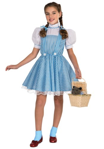 Wizard of Oz Deluxe Dorothy Costume, (Womens Wizard Costumes)