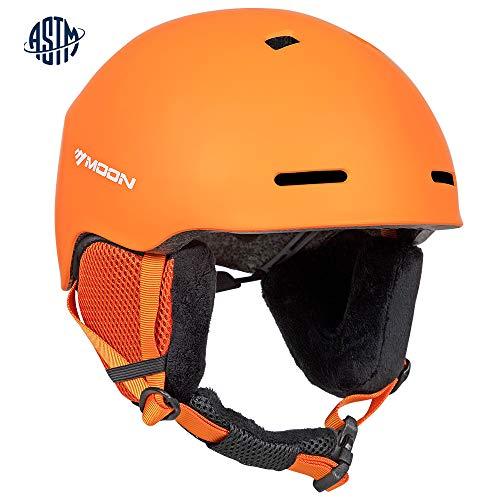 Ski Helmets Men (Matt Orange, L)