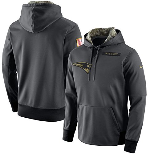New England Patriots 2016 Nike Salute to Service On-Field Hoodie 2XL NWT