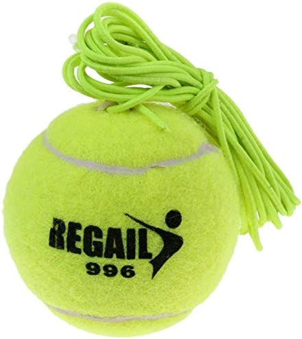 Ideale per Uso Interno ed Esterno Tenlacum Palla e Corde di Ricambio per Tennis Trainer