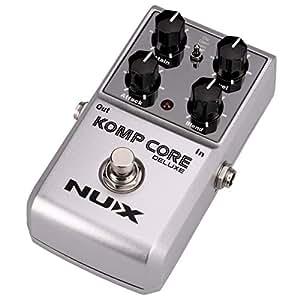 NUX Komp Core Deluxe Guitar Compressor Effect Pedal Wide Variety of Compressor Tones
