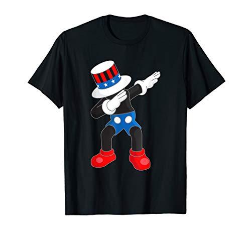 Kaws Mick Mouse Dab Dance Like Uncle Sam Men Women T -
