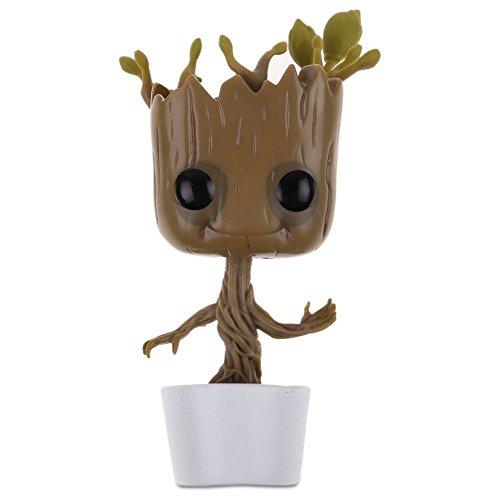 Popular Guardians of the Galaxy Vol.2 Vinyl Qute Figure Figurine Gift(Groot #2)