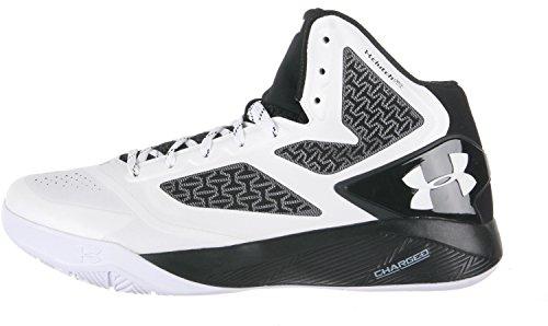 Mens Drive Blanco Clutchfit Negro UA Shoes 2 nwASWHREB