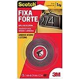 Fita Dupla Face 3M Scotch Fixa Forte - Uso Externo - 24 mm x 1, 5 m, Scotch, HB004419907