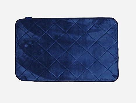 Tappeto memory blu tappeto bagno create la vostra area di