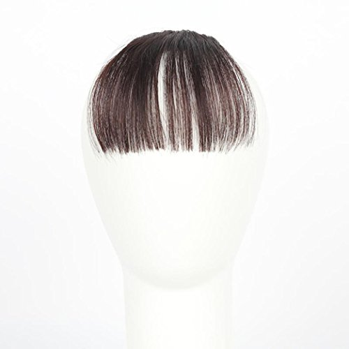 Fashion One Piece Clip In Hair Bangs Fringe Hair Extensions By Willsa