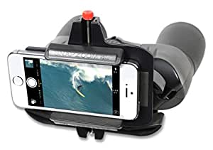 Snapzoom Universal Digiscoping Adapter for iPhone Android and Windows Smartphones. Compatible with Binoculars Spotting Scopes Telescopes and Microscopes.
