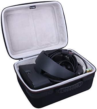 LTGEM エチレン酢酸ビニルコポリマーハードケース Oculus Rift S PC電源VRゲームヘッドセット用 - 旅行用保護収納バッグ