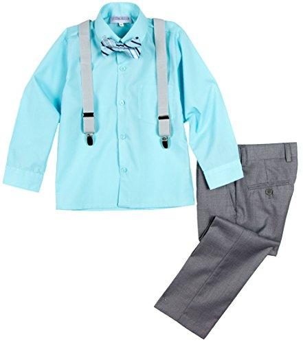Spring Notion Boys' 4-Piece Dress up Pants Set 6
