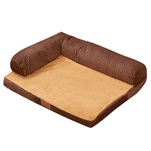 Sofa Dog Bed Pillow, Inkach Pet Square Beds for Puppy Kitten Cave Bed Liner, Small Dogs Cats Winter Warm Nest Kennel Sleeping Mat Pad Doggy House (One Size, C) ()