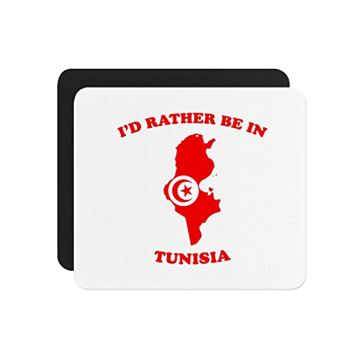 Price comparison product image I'D Rather Be In Tunisia Computer Laptop Mouse Pad