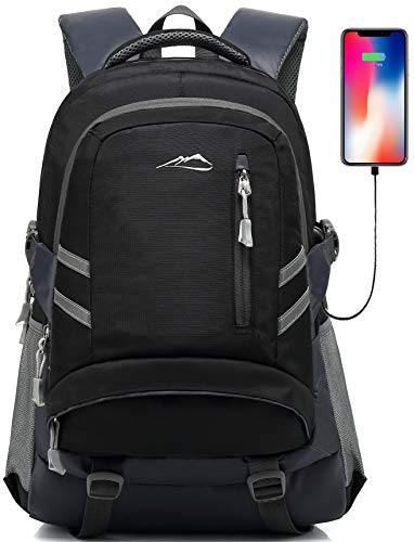 Backpack Bookbag for School Student College Travel Business with USB Charging...