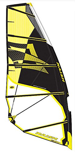 NAISH SAILS 2014 Wave & Freestyle Top Segel VIBE Starkwind (yellow, 5.0)
