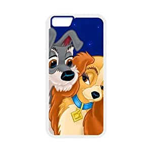 iphone6 plus 5.5 inch Phone case White Lady and the Tramp JJJ3629203