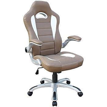Amazon Com Malibu Racing Mesh Office Chair Racer Red