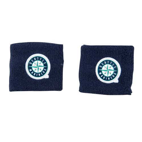 fan products of Franklin Sports MLB Seattle Mariners Team Wristbands