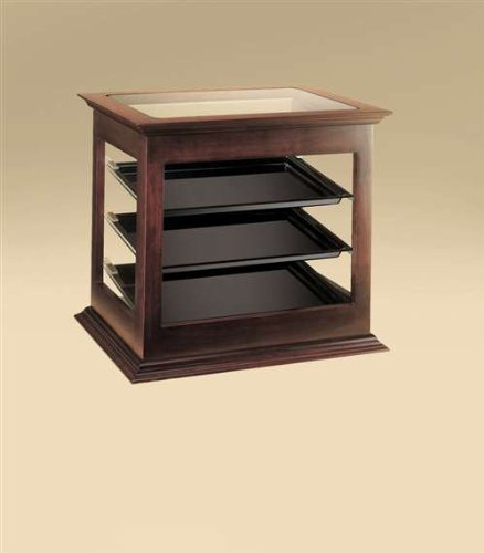 Cal-Mil 284-52 Westport Display Case, 18.5'' Length x 21.75'' Width x 20.25'' Height, Dark Wood by Cal Mil