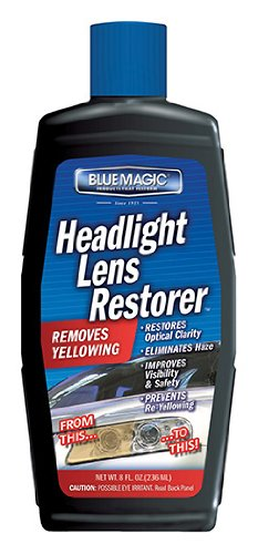 Blue Magic 725CD-06 Headlight Lens Restorer - 8 oz.
