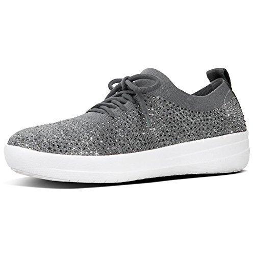 Fitflop Donna F-sporty Uberknit Sneaker Grigio Antracite