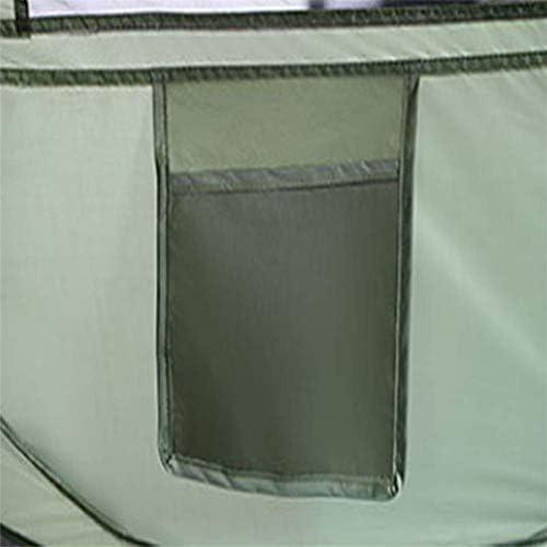 WYJBD Tienda de campaña, portátil, plegable, material de Oxford Cloth, diseño de doble cremallera, ventilado transpirable, para el senderismo Campeones Backpacking viajes