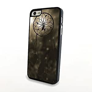 03-Floral Damask Pattern- Case for the Iphone 5 5S ONLY!!!-NOT COMPATIBLE WITH THE REGULAR Iphone 5 5S !!!-Hard White Plastic Outer Case