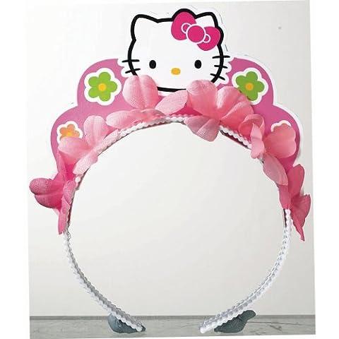 Amscan Adorable Hello Kitty Balloon Dreams Tiara Birthday Party Favors (1 Piece), 5