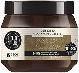 Oferta amazon: Hello Nature Mascarilla De Coco Repara y Humecta250 ml