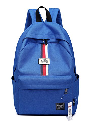Cute Blue Sky Straps Laptop School Backpack Keshi Canvas Reinforced College 5Hqw4xTF