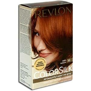 Amazon.com: Revlon Colorsilk Haircolor #53 Light Auburn 5R