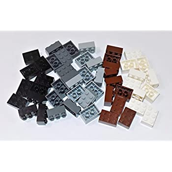 50 NEW LEGO Plate 1 x 2 BRICKS Dark Tan