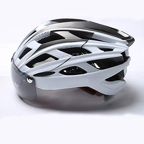 Bike Safety Helmet,built-in Insect Net Mountain Bike Riding Helmet Integrated Molding Safety Hat Road Bike Men And Women…